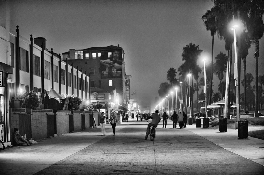 This Is California No. 11 - Venice Beach Biker Photograph