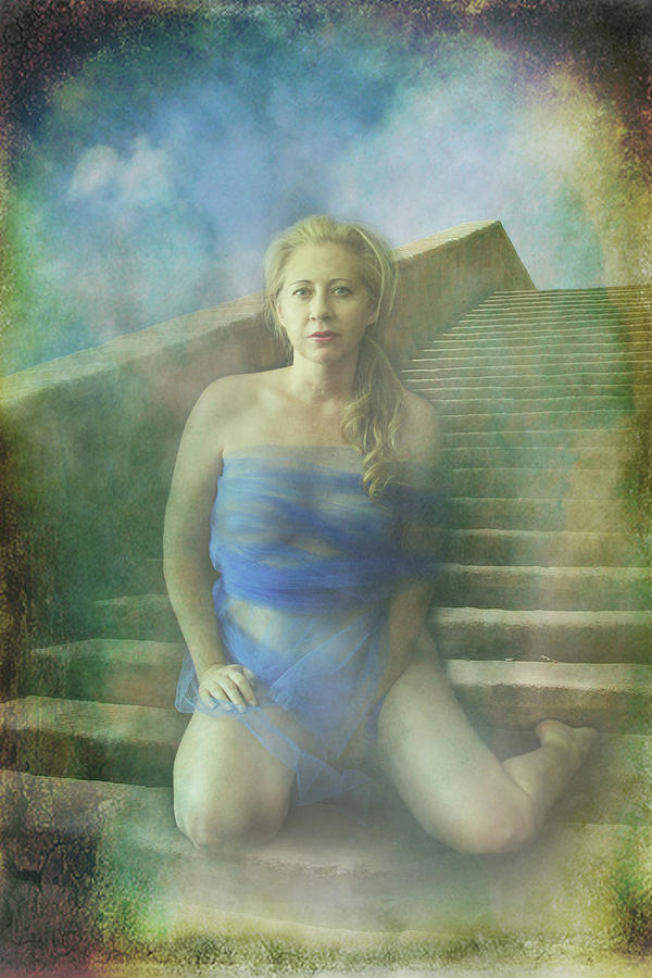 Woman Photograph - This Is My Heart by Laurie Search