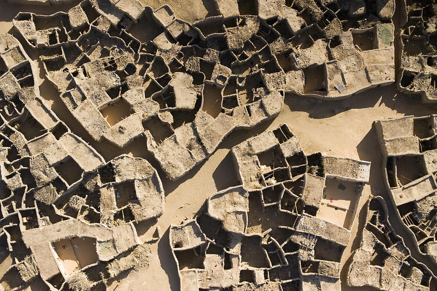 Landscape Photograph - This Old Salt Slab Town In Dirkou by Michael Fay