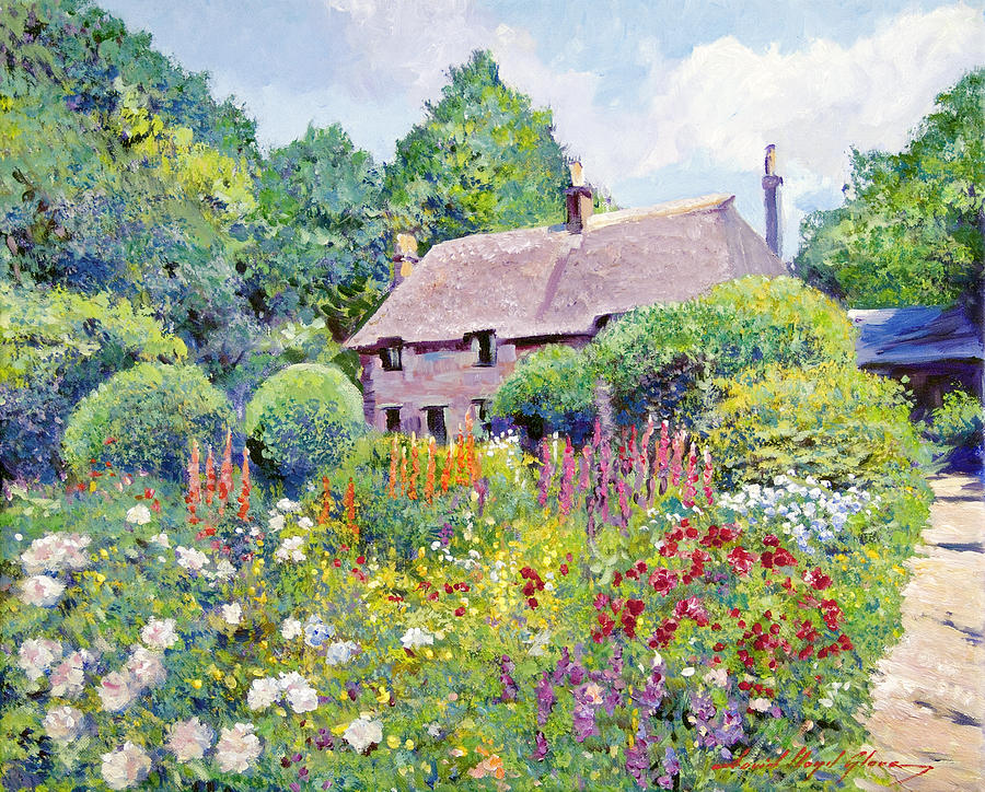 Impressionism Painting - Thomas Hardy House by David Lloyd Glover