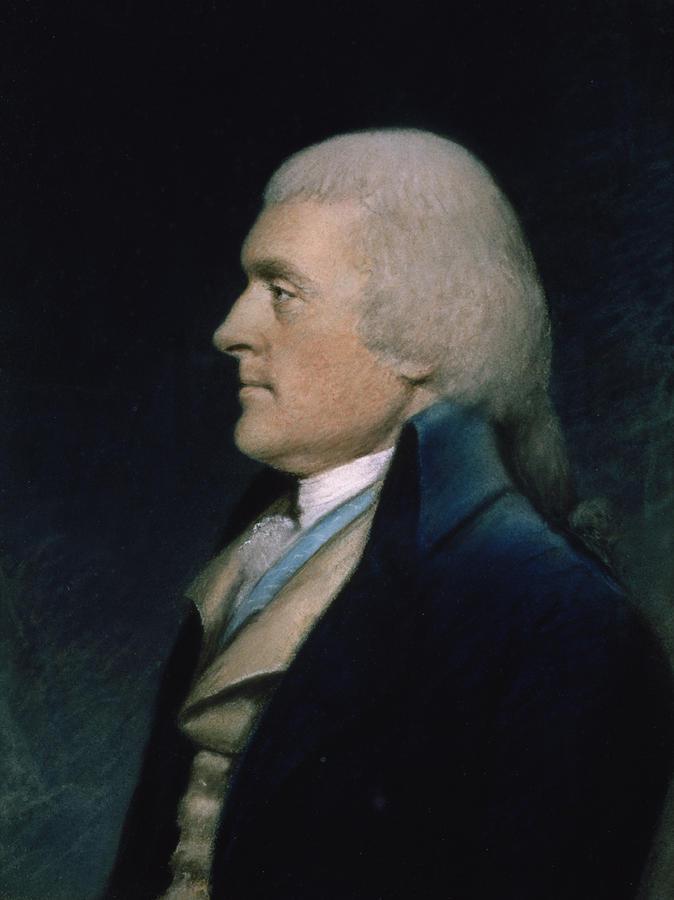 Thomas Pastel - Thomas Jefferson by James Sharples