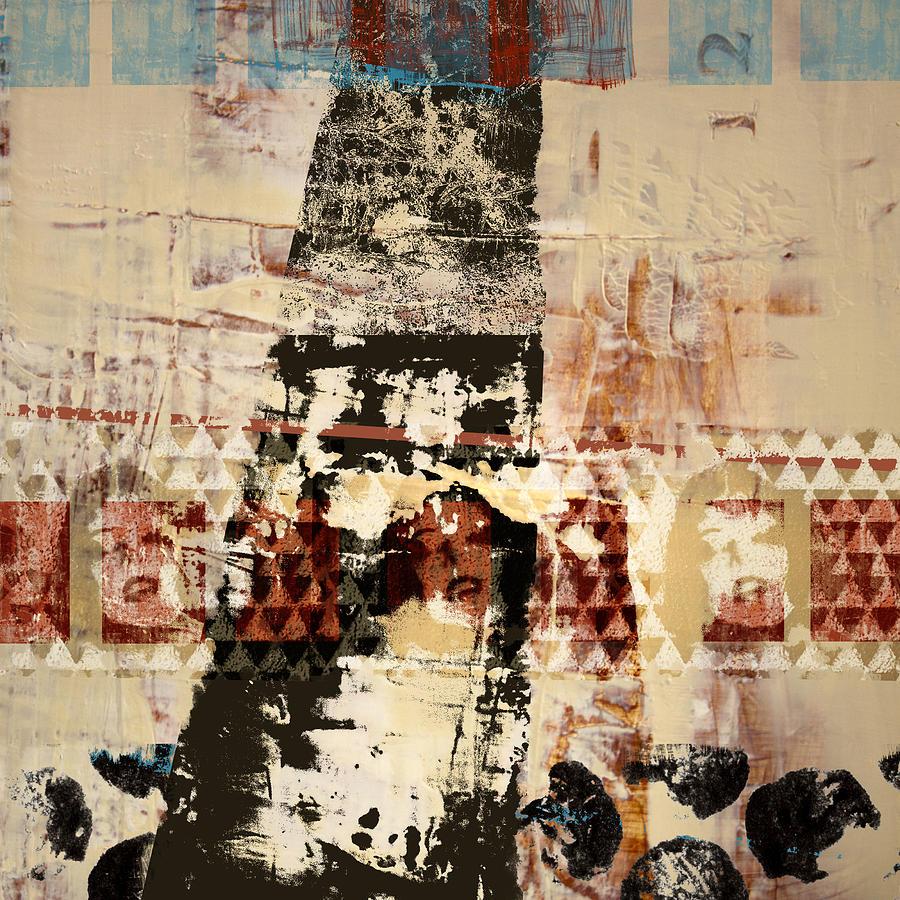 Three Photograph - Three Faces by Carol Leigh