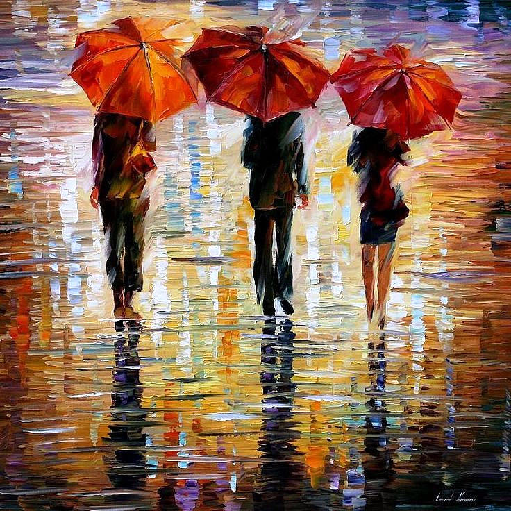 leonid afremov umbrella - photo #8