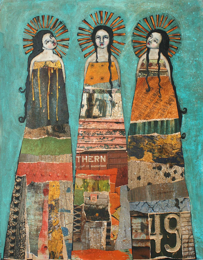 Three Saints is a painting by Jane Spakowsky which was uploaded on ...