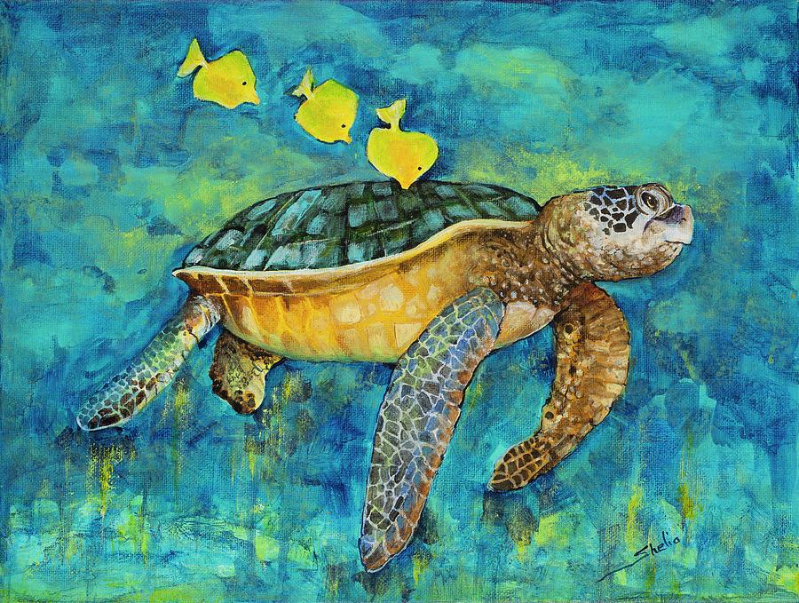Three Tagalones Painting By Shelia Thompson