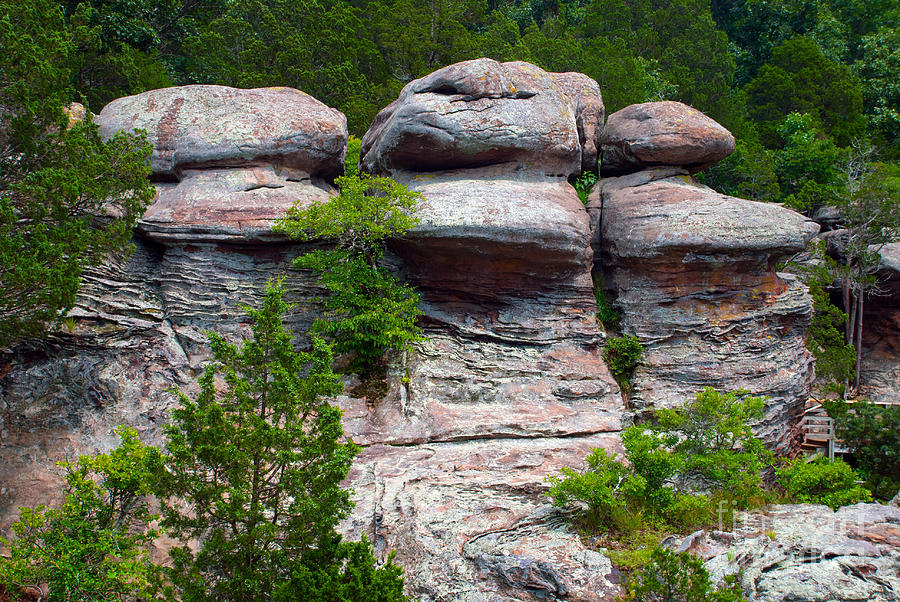 Three Warriors Guarding The Entrance To The Garden Of The Gods W Photograph By Oleksandr Koretskyi