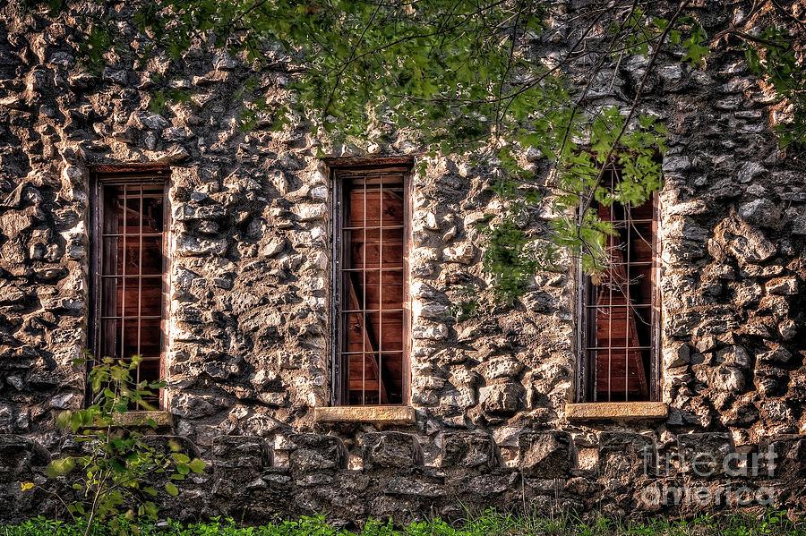 Windows Photograph - Three Windows by Tamyra Ayles
