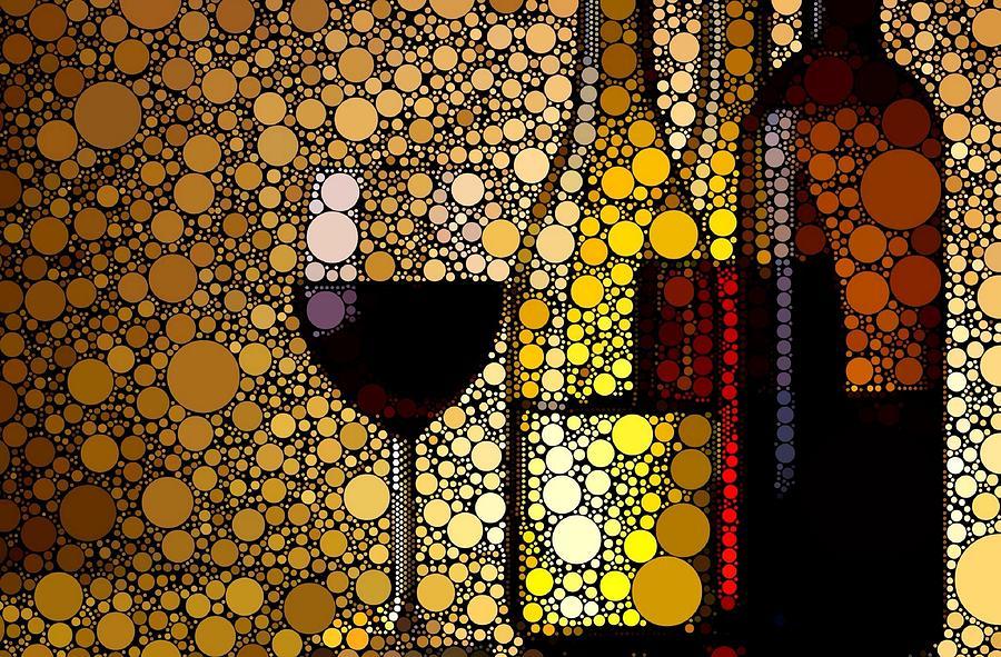 Three Wines Digital Art