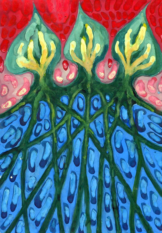 Colour Painting - Three by Wojtek Kowalski