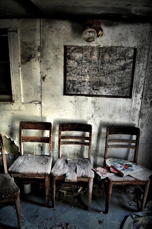 Abandoned Photograph - Threes A Crowd by Emily Stauring