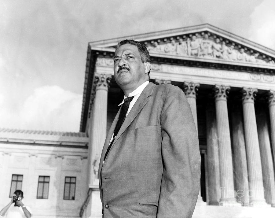 Thurgood Marshall Photograph