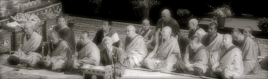 Tibetan Monks Photograph
