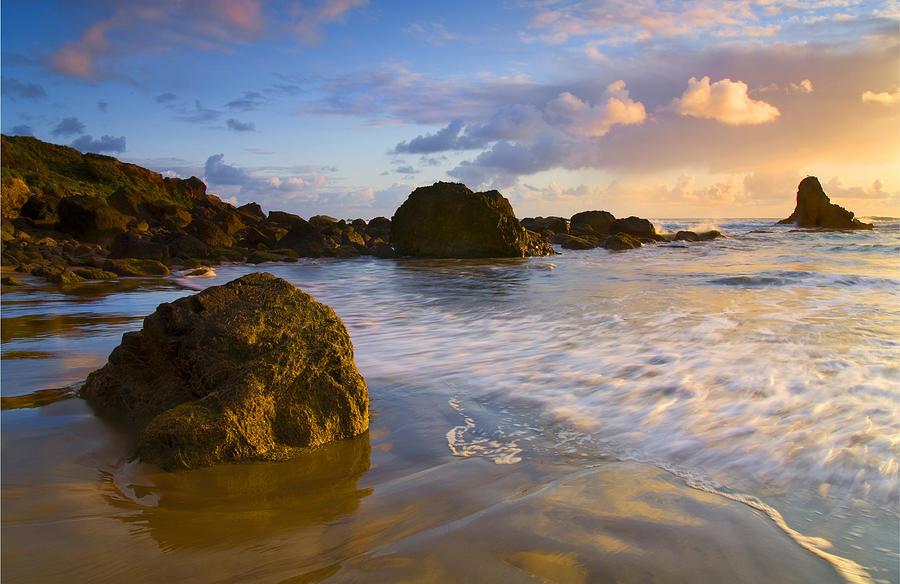 Beach Photograph - Tidal Flow by Mike  Dawson