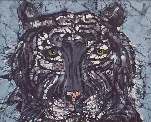 Tiger Tapestry - Textile - Tiger by Kay Shaffer