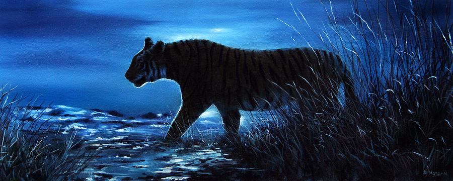 easy night scene paintings - photo #37