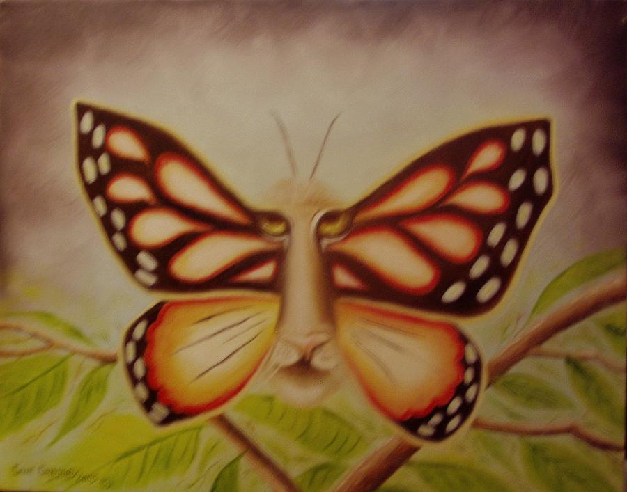 . Painting - Tigerfly by Gene Gregory