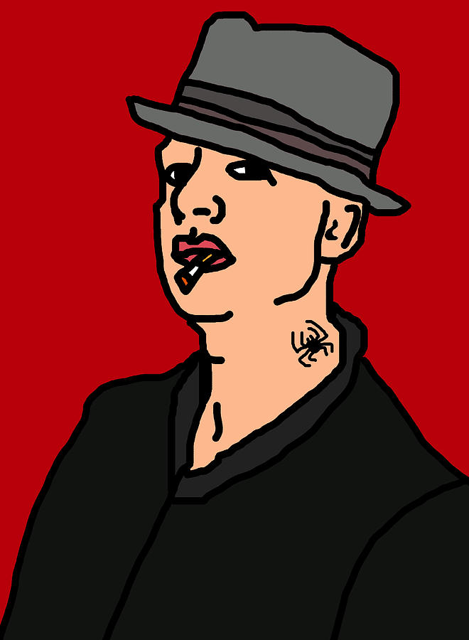 Tim Digital Art - Tim Armstrong by Jera Sky