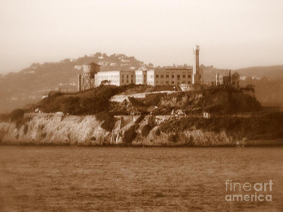 San Francisco Photograph - Timeless Alcatraz by Carol Groenen
