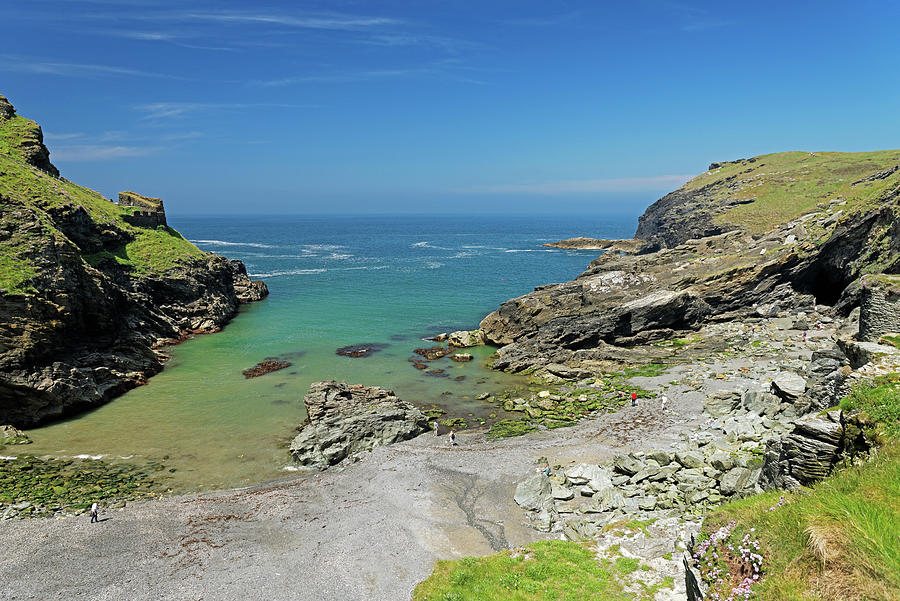Tintagel Haven Photograph