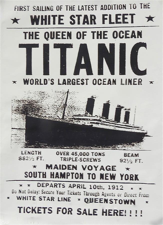 Vintage Titanic 86