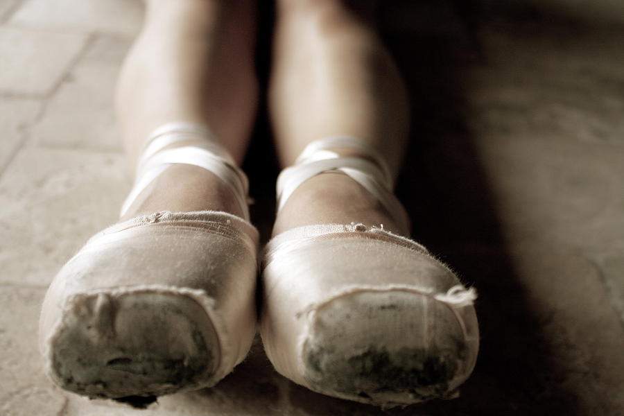 Pointe Shoes Photograph - To The Pointe by Alison Mae Photography