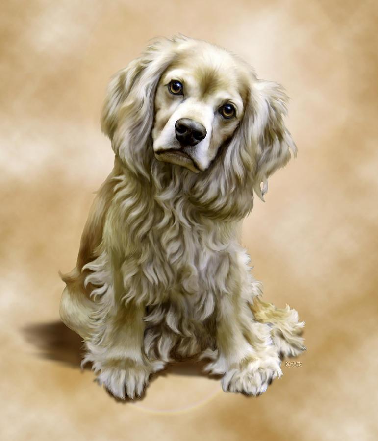 Dog Digital Art - Toby by Barbara Hymer