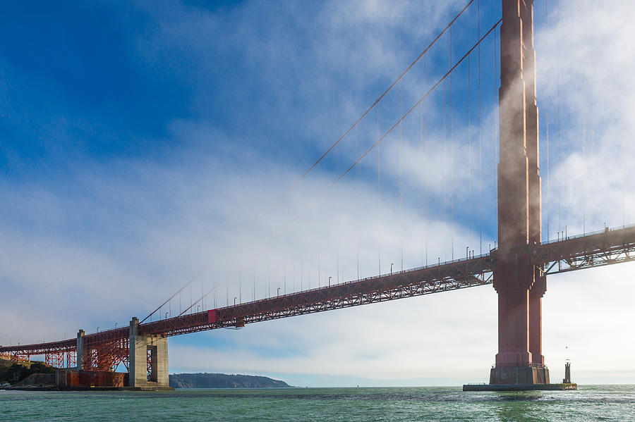 Golden Gate Bridge Photograph - Too Tall by Scott Campbell