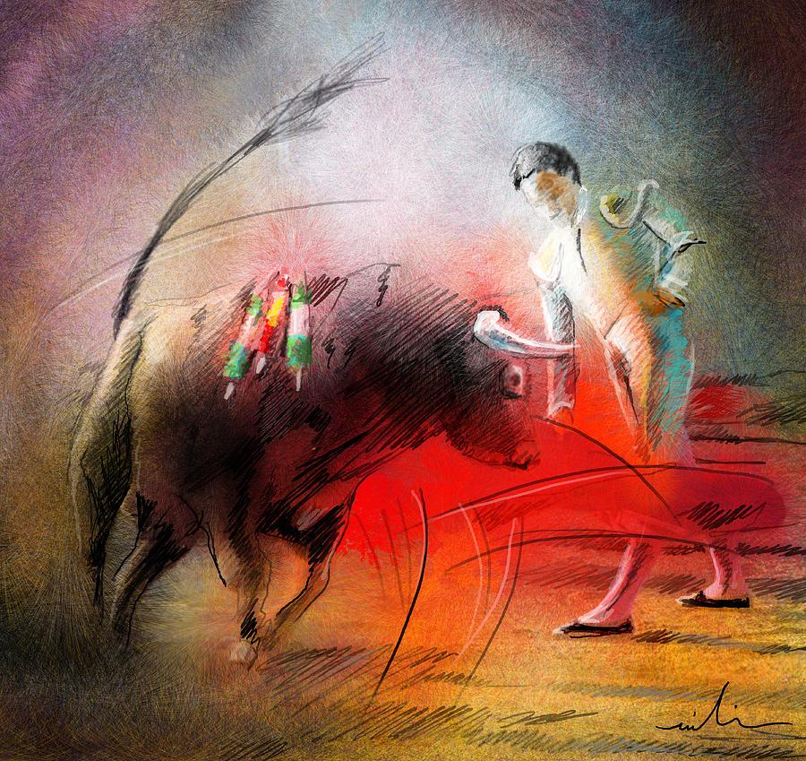 Animals Painting - Toroscape 59 by Miki De Goodaboom