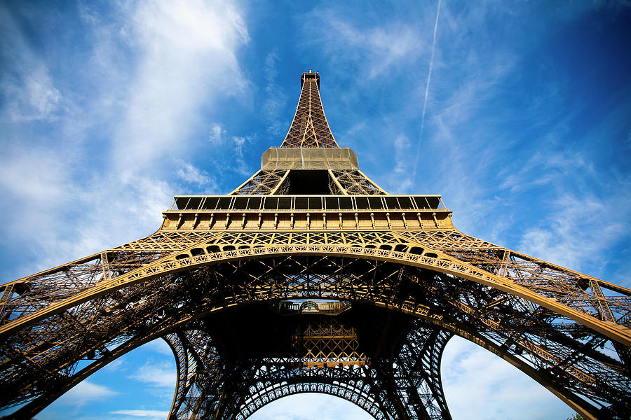 Horizontal Photograph - Torre Eiffel - Tour Eiffel - Eiffel Tower by Ruy Barbosa Pinto