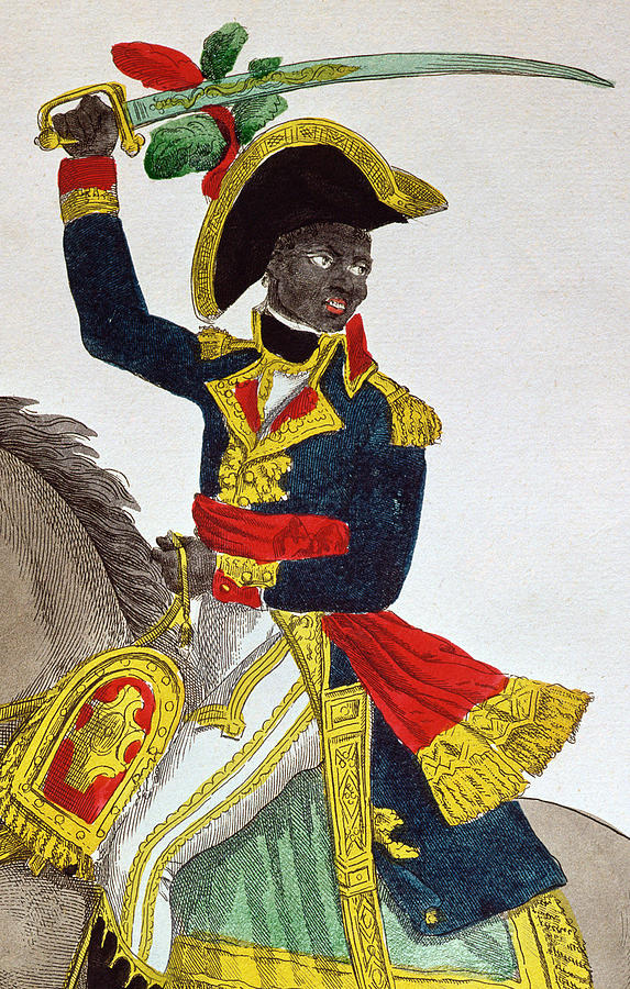 Toussaint Louverture is a painting by French School which was uploaded ...