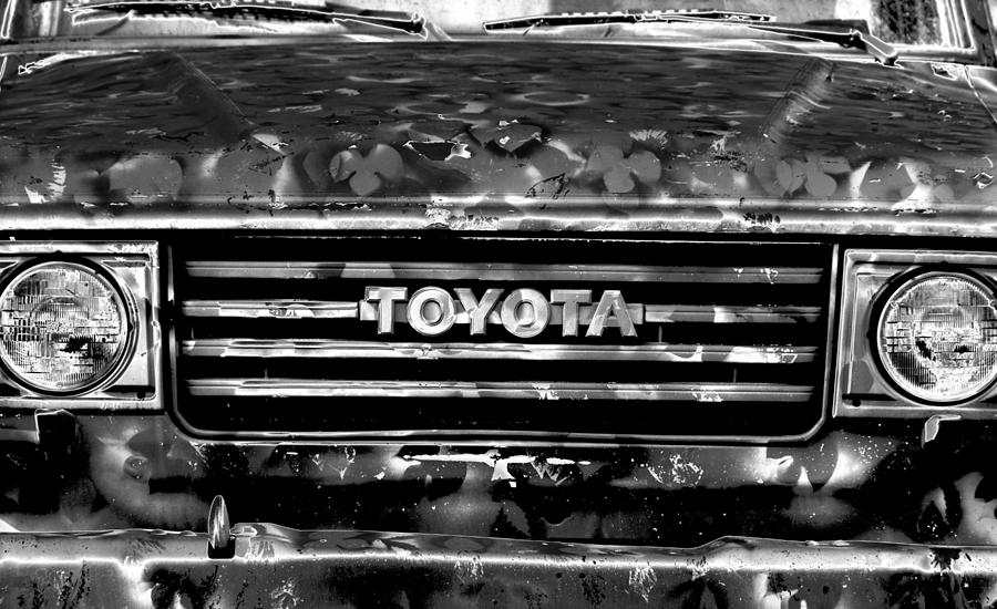 Toyota Photograph - Toyota Truck by Lyle  Huisken