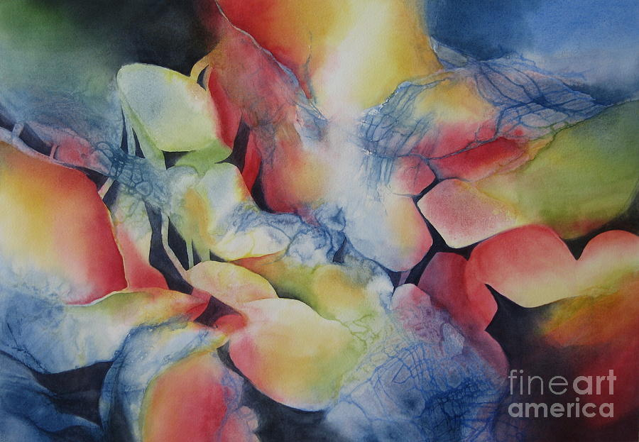 Abstract Painting - Transformation by Deborah Ronglien