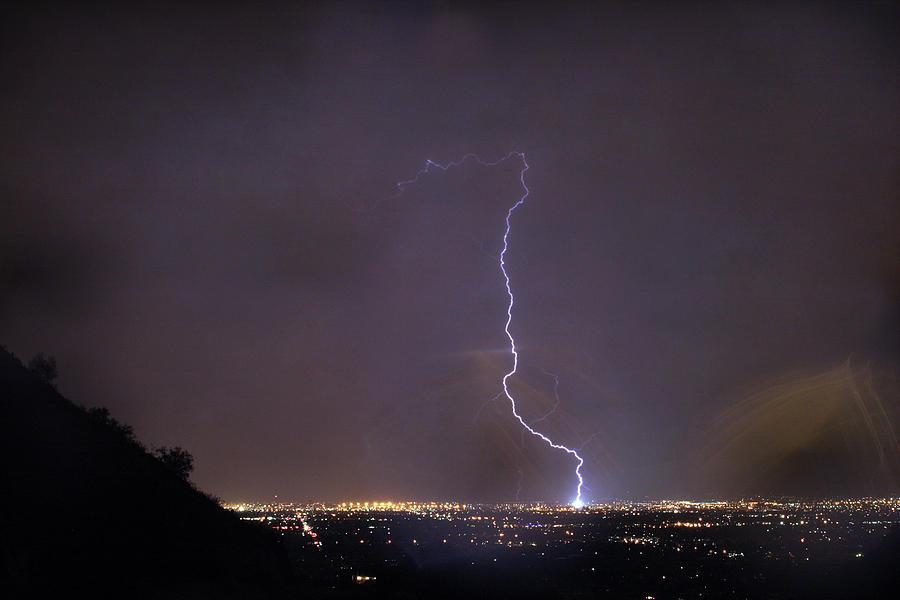 Its A Hit Transformer Lightning Strike Photograph