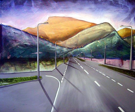 Oil Painting - Tree Change by Matthew Lake