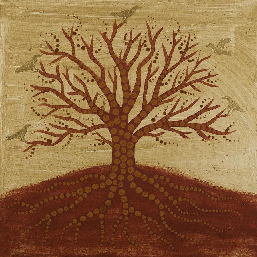 Tree Of Life Painting - Tree Of Life 3 by Sophy White