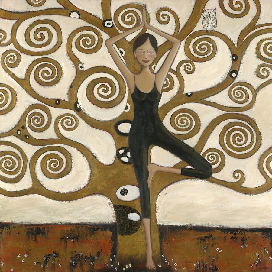 Tree Of Life Painting - Tree Of Wisdom by Denise Daffara