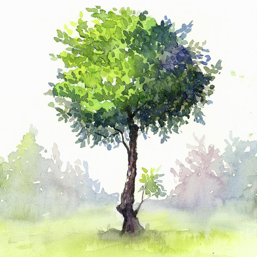 Tree Study Painting