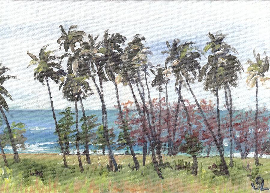 Tres Palmas Painting