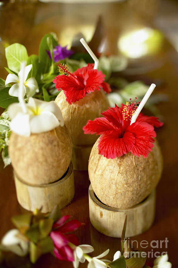 Tropical Cocktail Photograph