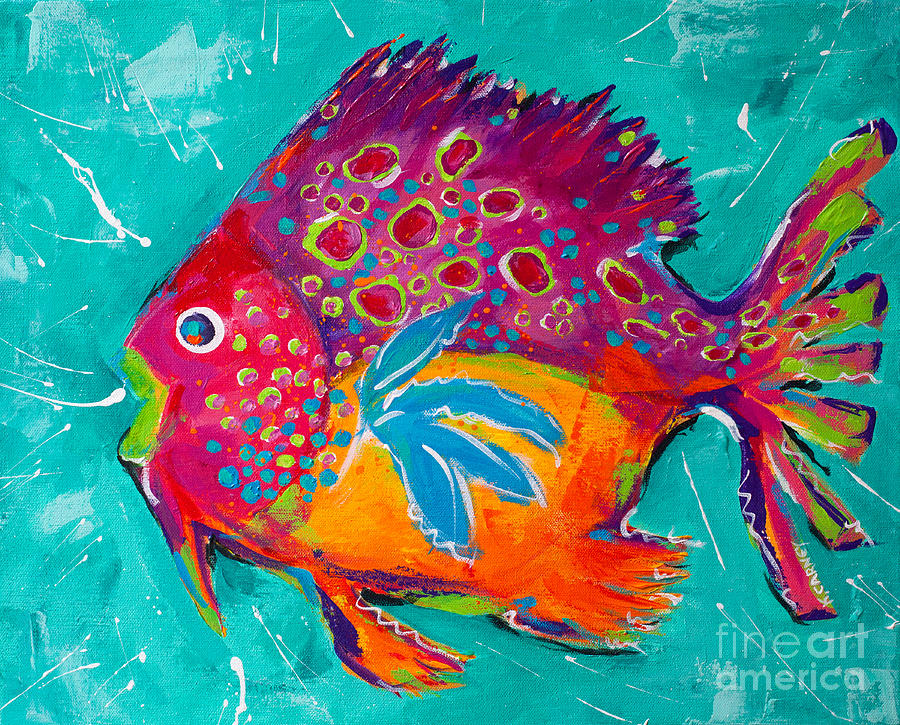 Tropical fish by katherine carney
