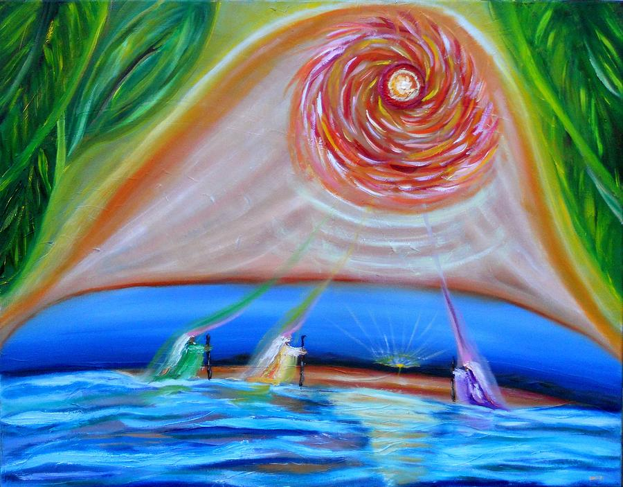 Messiah Painting - True Wisdom True Messiah by David Johnson