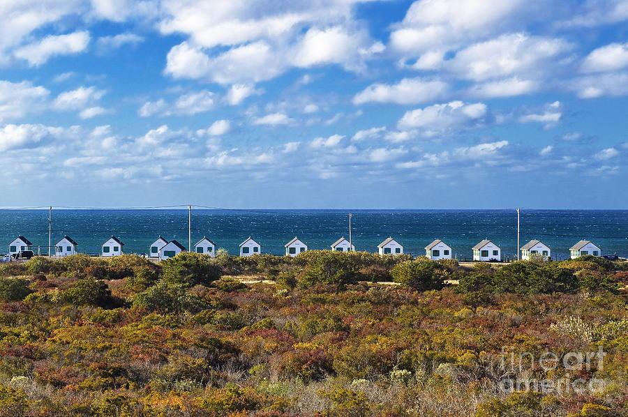 Cape Cod Photograph - Truro Cottages by John Greim