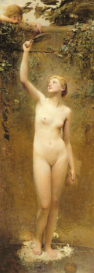 Nude Painting - Truth by George William Joy