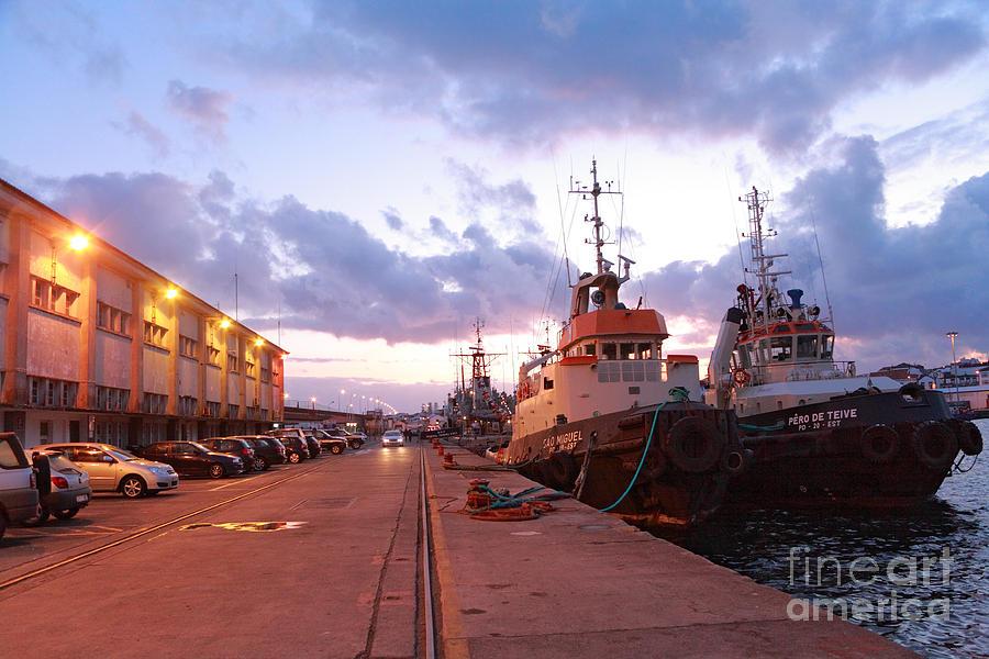 Tug Boats Photograph - Tug Boats by Gaspar Avila