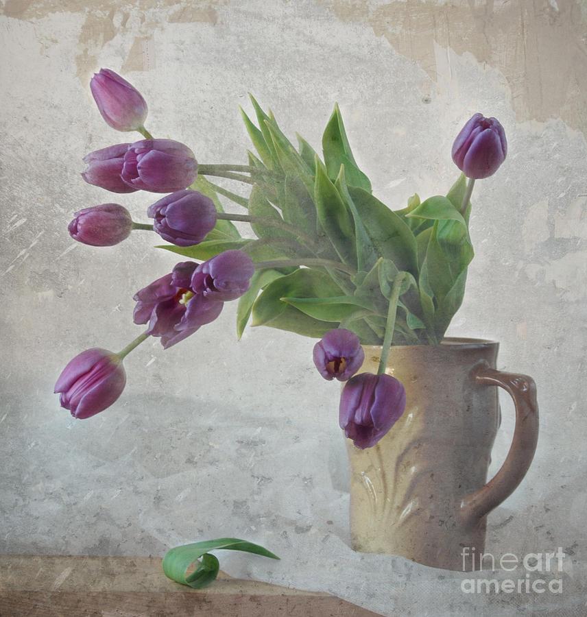 Tulips Photograph - Tulips by Irina No