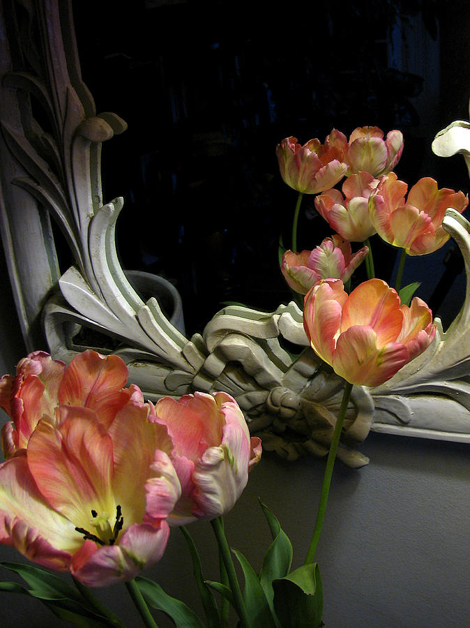 Tulips Photograph - Tulips by Vari Buendia