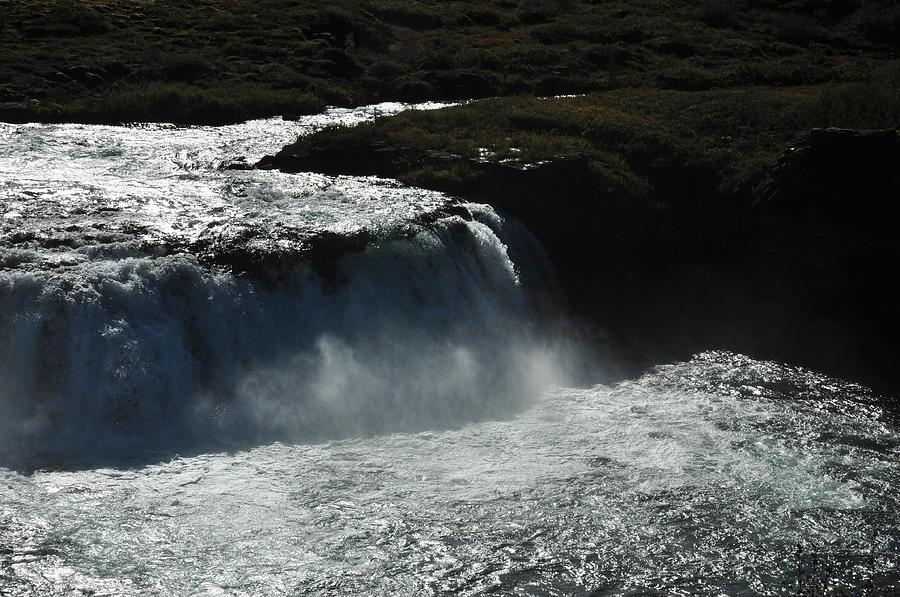Faxi Photograph - Tungufljot River And Faxi Falls by David Halperin