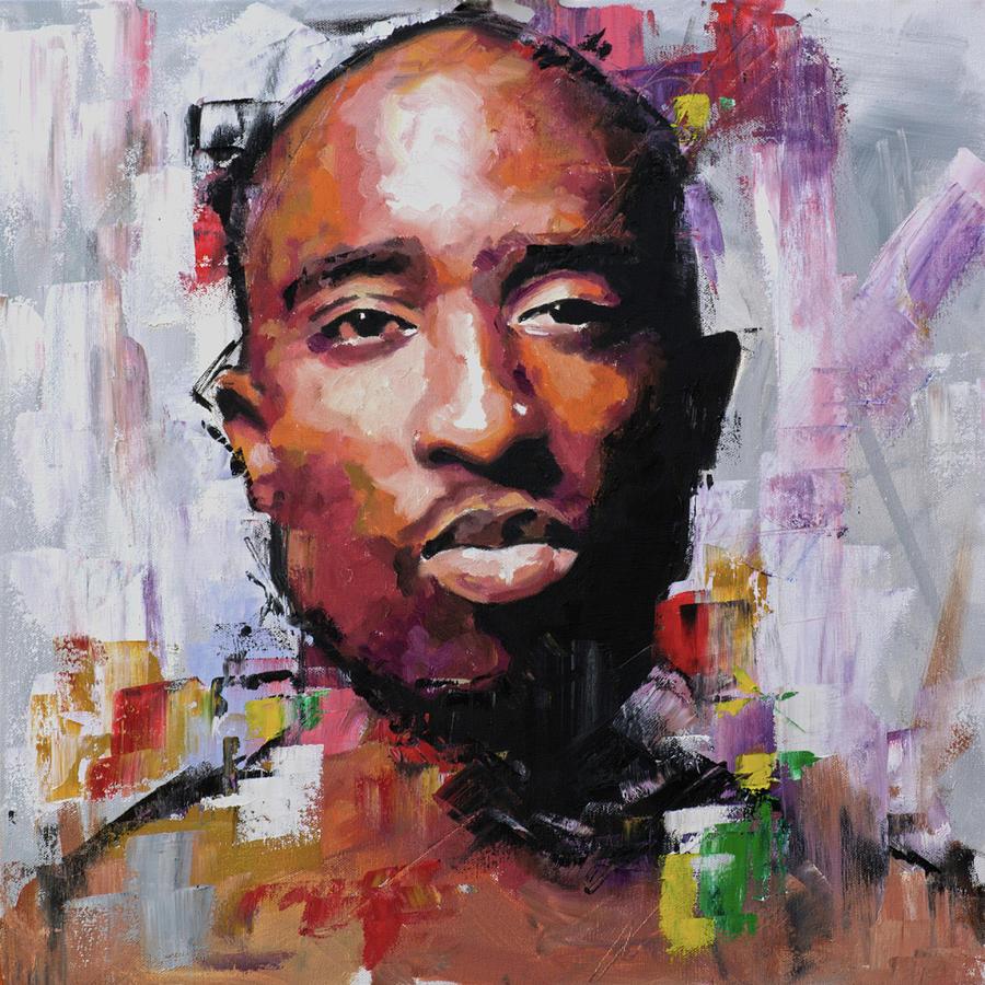 Rapper Face Paint