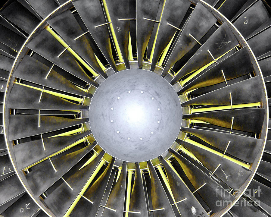 Turbine Blades Photograph