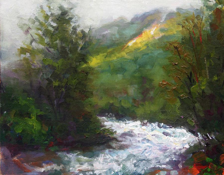 Little Painting - Turbulence by Talya Johnson
